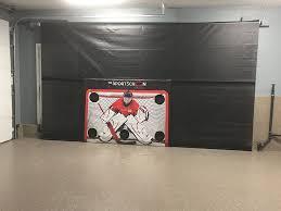 garage door protectorGarage Living Calgary Donates SportScreen Garage Door Protector To