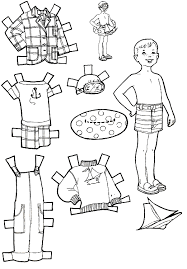 Small Picture Kids Fun Vacation Paper Dolls Kids Fun Pinterest Fun