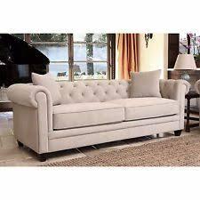 beige tufted sofa. Contemporary Beige ABBYSON LIVING Fulton Beige Velvet Fabric Tufted Sofa For