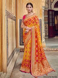 Tathastu Designer Sarees Tathastu 3300 By Tathastu Red Silk Zari Wholesale Designer Saree
