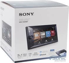 sony xav v630bt double din nfc bluetooth in dash digital media a v product sony xav v630bt