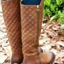 Cognac Quilted Riding Boots | Steve from STEVE MADDEN | Things I & Cognac Quilted Riding Boots | Steve Madden Northsde Adamdwight.com