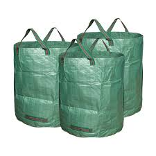 garden bags. 3 Pieces Garden Bags 72 Gallons Collapsible Reusable Gardening Containers Large Yard Waste For 5