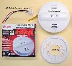 how to install a hardwired smoke alarm ac power and alarm wiring install a kidde firex smoke alarm model pi2010