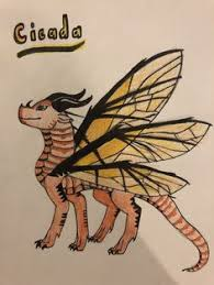cicada the hive wing for blueberry the dragon