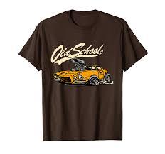 Auto Tshirt Design Amazon Com Old School Auto Racing Classic Car Gear
