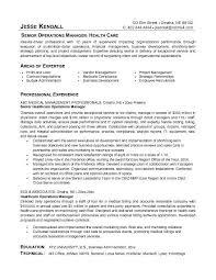 Health Care Objective Resume Health Care Resume Objective Sample