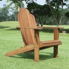 linon classic wood adirondack chair teak finish wooden chairs uk linon x adiron large