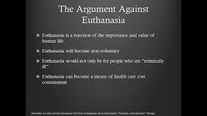 euthanasia presentation against assisted suicide edition euthanasia presentation against assisted suicide edition