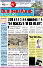 BusinessWeek Mindanao (December 9, 2013) by Mindanao Daily News - issuu