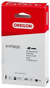 """Купить <b>Цепь OREGON 91P062E</b> 18"""" 3/8"""" 1.3 мм 62 звен. по низкой ..."""