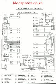 wiring diagrams washing machines macspares whole spare defy combomaid mk2