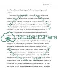communism vs capitalism my ideal government system essay my ideal government system essay example