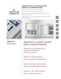 Blast Freezer Design Manual Whirlpool Adn 251 Instruction For Use Manualzz Com
