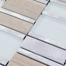 metal floor tiles. Beautiful Metal Crystal Glass Tile Blend Metal Mosaic MG0111 On Metal Floor Tiles