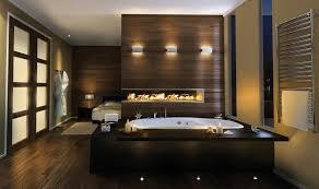 furniture modern fireplace master bathroom design ideas wall