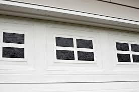 easy diy faux garage door windows