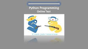 Best Python Programming Online Test For Job Seekers