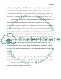 Essay About Invention Invention Of Press And Advertisement Technology Essay