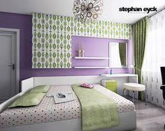 Purple And Green Girls Bedroom