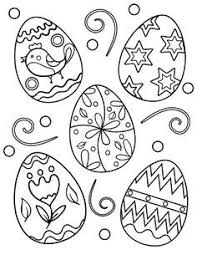 Pin By Rochelle Russell On Easter Coloring Easter Eggs Easter Egg