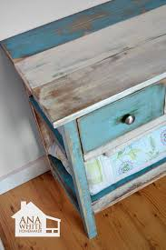 multi colored painted furniture. how to paint furniture reclaimed wood patchwork multi color colored painted