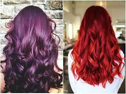 60 Burgundy Hair Color Ideas Maroon Deep Purple Plum Burgundy