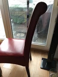Esszimmerstühle Rot