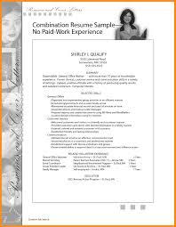 12 Work Experience Resume Template Agenda Example