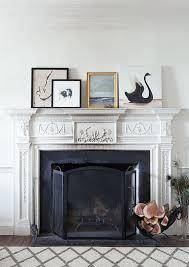 josie moran artfully walls meredith aitken print fireplace