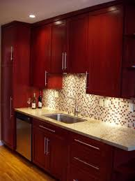 Cherry Kitchen Cherry Wood Kitchen Cabinets Home And Interior