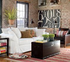 engaging home interior design and decoration with pottery barn furniture modern living room decoration using