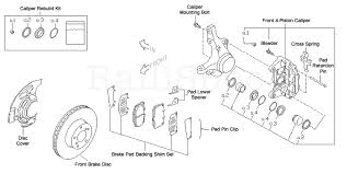subaru 4 pot front brake kit Subaru Impreza Parts Diagram subaru front brake kit 2008 subaru impreza parts diagram