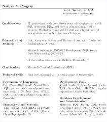 Db2 Database Administrator Resume Resume Oracle Resume Format Resume