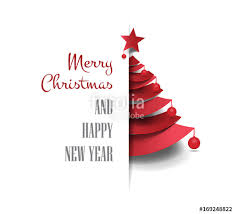 Pictures Of Merry Christmas Design Merry Christmas Happy New Year Golden Triangle Tree Low Poly