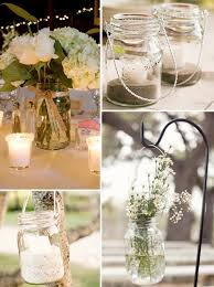 Decorated Jars For Weddings Lots Of Mason Jar Ideas nice Mason Jar Wedding Decorations 100 14