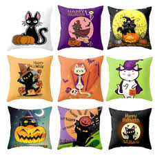 2020 New <b>Halloween</b> Pillowcase Fashion Cute Cartoon Animal ...