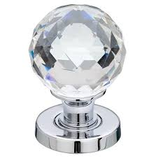 glass door knobs. Interesting Knobs Frelan Hardware JH5255PC Faceted Glass Door Knobs Polished Chrome Finish  Jedo Collection  And