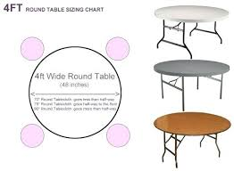 round table sizes excellent the best ideas on for tablecloth modern wedding round table sizes restaurant uk