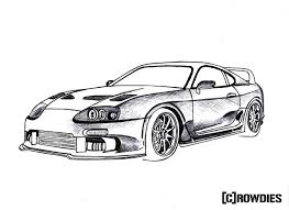Skyline car drawing at getdrawings free for personal use