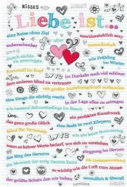 Liebe Ist Der Größte Schatz Auf Erden Poster Spruechetantede