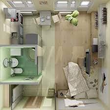 one room flat design studio apartment