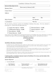 sponsorship agreement sponsorship agreement in word