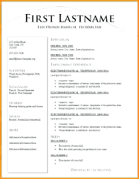 Different Types Of Resume Formats What Types Of Resumes Are There
