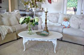 shabby chic coffee tables white