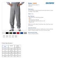 Gildan Sweatpants Size Chart Related Keywords
