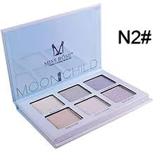fashladytm 2 hot sles makeup pressed highlight powder face brighten bronzer contour palette easy to wear at low s in india amazon in
