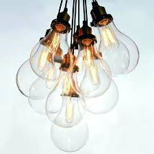 bulb cer chandelier big bulbs cer pendant light chandelier and co