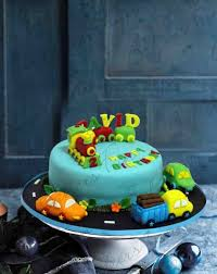 Buy Train Fondant Birthday Cake For Kids Online At Best Prices