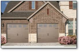 our 170 series steel garage door features the strength of steel and the standard or long panel simulated wood grain embossment which enhances the appearance
